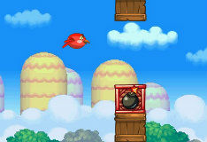 Игра Red Flappy Bird 2