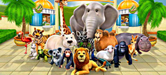 играй с друзьями в Игры про Животных Раскраски