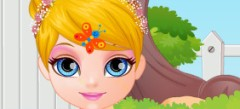 играть в Игры Малышка барби Барби online