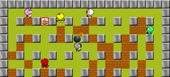 любые онлайн игры - игры на двоих Бомберы