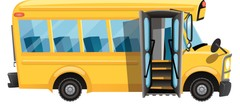 новейшие Автобусы с друзьями