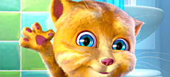 новейшие игры для девочек кошки в сети