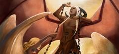 клевые Игры Демоны и ангелы Одевалки по интернету