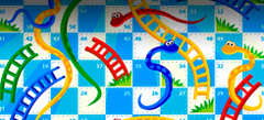играй с друзьями в Настольные игры Змейка