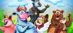 клевые флеш игры - игры Веселая ферма