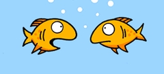 Игры Рыбки Раскраски - играть
