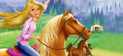 состязания на лошадях - играть