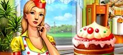 игры про Кекс шоп , мини игры