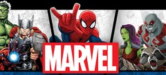 онлайн флеш игрушки - игры про героев Марвел