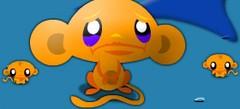 online игры - игры Счастливая обезьянка