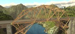 поиграть в игры про строительство мостов online
