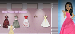 флеш Одевалки для девочек по интернету