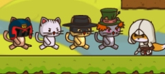 игры про отряд котят , 3d игры