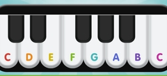 мини игры - игры на Пианино
