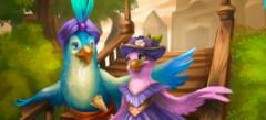 играй в игры про Попугая