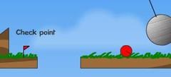 играть в игры про Красный шар онлайн