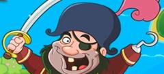 лучшие флэш-игры - игры про сокровища пиратов