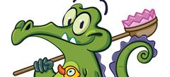 online флеш игры - игры Крокодильчик Свомпи
