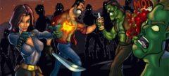 online игры - игры про Текилу с зомби
