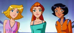 мини игры Totally Spies с друзьями