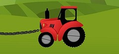 онлайн флеш игрушки - игры про Тракторы