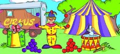игры про цирк , flash-игры