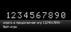 ������ � ����������� ��� 1234567890 - flash ����