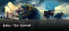 флеш - Про троллей