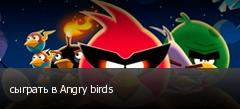 сыграть в Angry birds