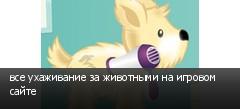 все ухаживание за животными на игровом сайте
