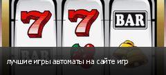 лучшие игры автоматы на сайте игр