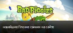новейшие Плохие свинки на сайте
