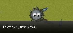 Бактерии , flash-игры