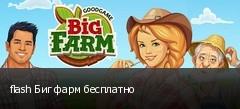 flash Биг фарм бесплатно