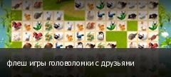 флеш игры головоломки с друзьями
