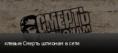 клевые Смерть шпионам в сети