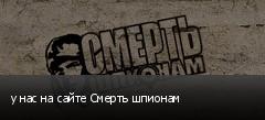 у нас на сайте Смерть шпионам