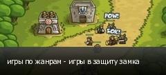 игры по жанрам - игры в защиту замка