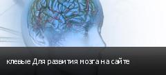 клевые Для развития мозга на сайте
