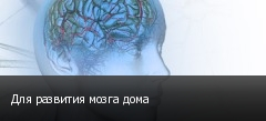 Для развития мозга дома