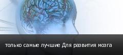 только самые лучшие Для развития мозга