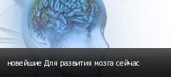 новейшие Для развития мозга сейчас