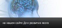 на нашем сайте Для развития мозга