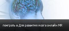 поиграть в Для развития мозга онлайн MR