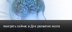 поиграть сейчас в Для развития мозга