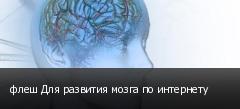 флеш Для развития мозга по интернету