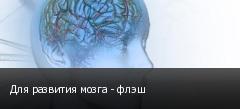 Для развития мозга - флэш
