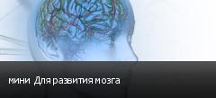 мини Для развития мозга