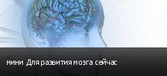 мини Для развития мозга сейчас
