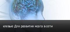 клевые Для развития мозга в сети